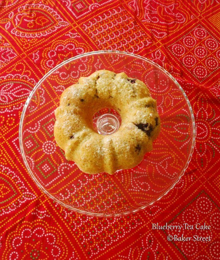 Blueberry Tea Cake Baker Street1 | Favorite Recipes | Pinterest