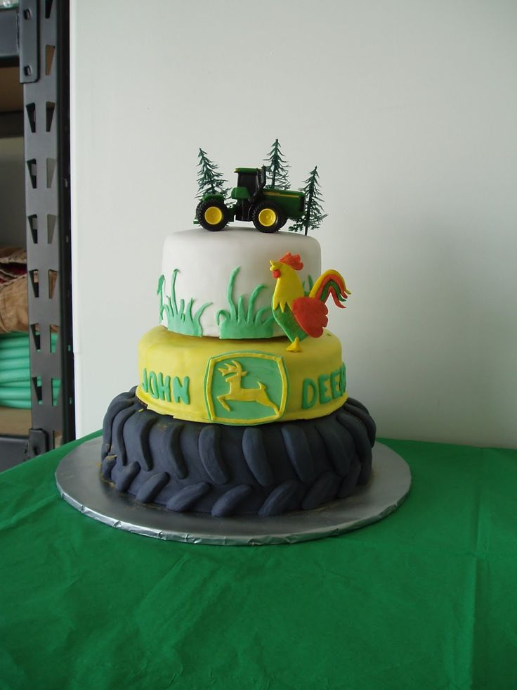 Birthday Cake Images John : Tractor John Deere Birthday Cake Cakes & Cupcakes ...