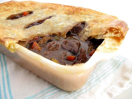 Beef and Guinness Pie | food | Pinterest