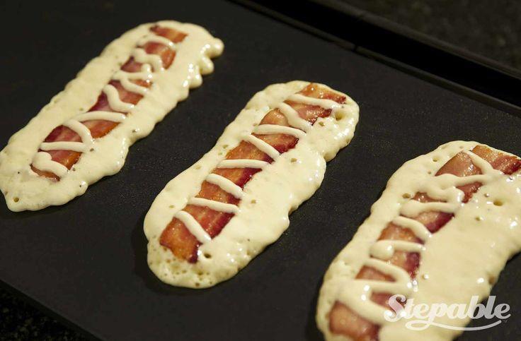 Bacon Pancake Dippers | Recipe