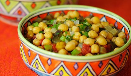 Chickpea, Eggplant and Tomato Stew | Food | Pinterest