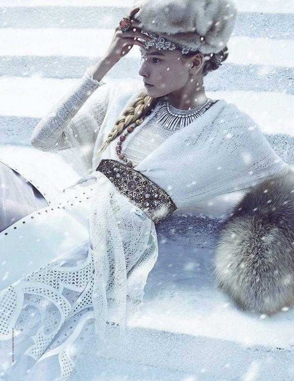 Ice Princess, photographer Tomas Whiteside