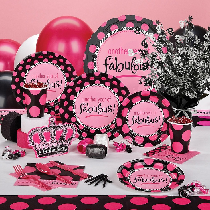 Celebrate express forty fabulous party ideas pinterest for 40 birthday decoration ideas