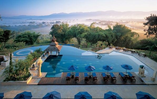 Anantara Resort & Spa, na Tailândia