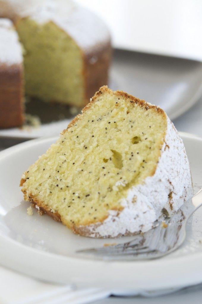 lemon poppy seed cake | Love The Cake | Pinterest