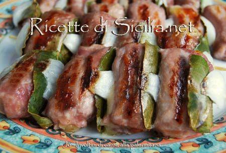 Tradional meat rolls from Palermo, orginal #recipe !!! Enjoy it! # ...