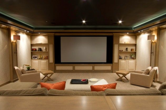 22 Contemporary Media Room Design Ideas Like Pinterest