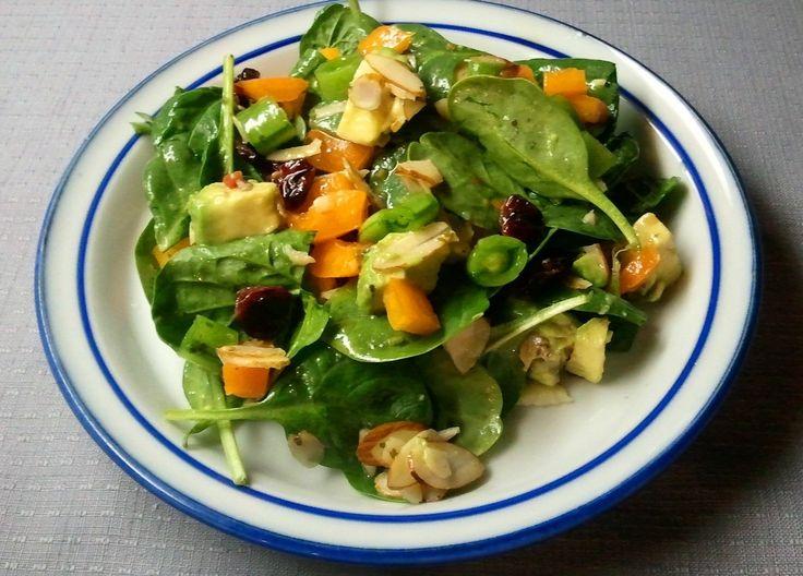 Avocado Spinach Salad | Soups, Stews & Salads | Pinterest