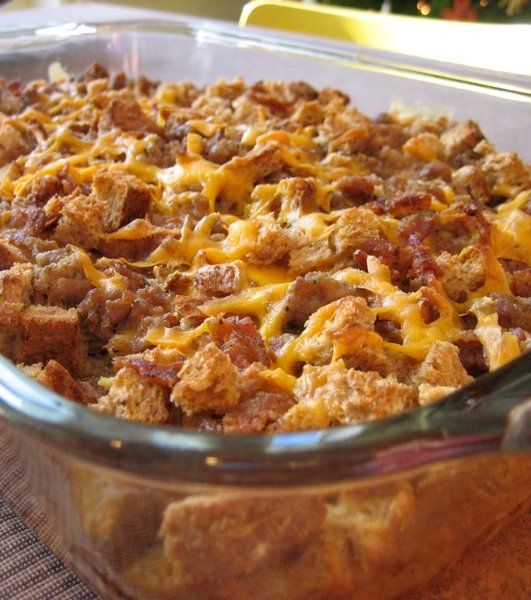 Bacon Breakfast Casserole | Recipe