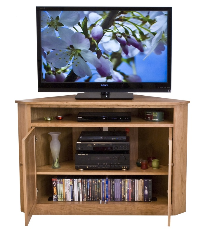 Flat Screen Corner Entertainment Center For The Home