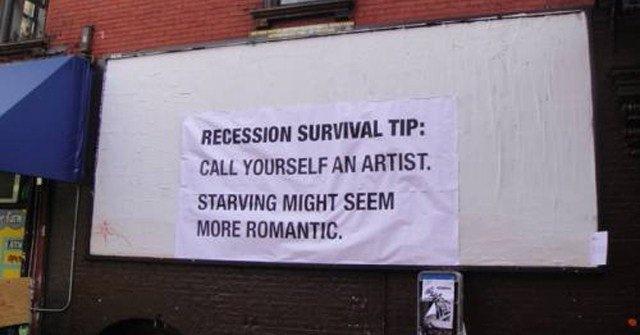 starving artist tip