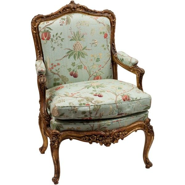 single louis xv style gilt frame arm chair antique chair liked