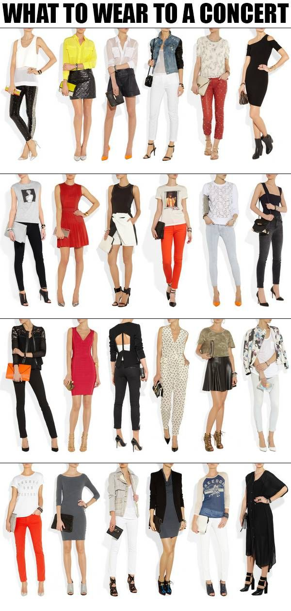 What To Wear To A Conc...
