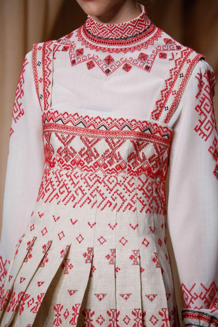 Вышивка для национального платья