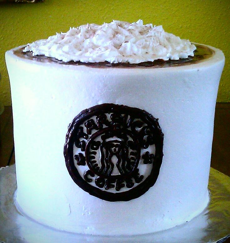 Starbucks Coffee Cup Cake | Piece of Cake :-) | Pinterest