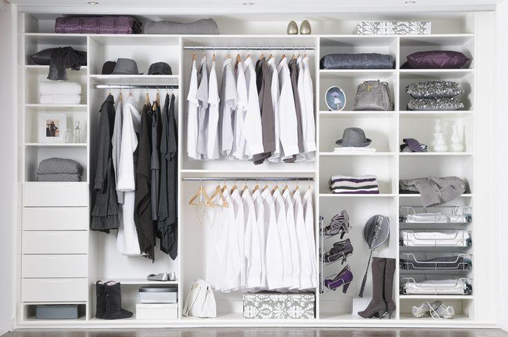 Wardrobe closet wardrobe closet solutions for Inside wardrobe storage