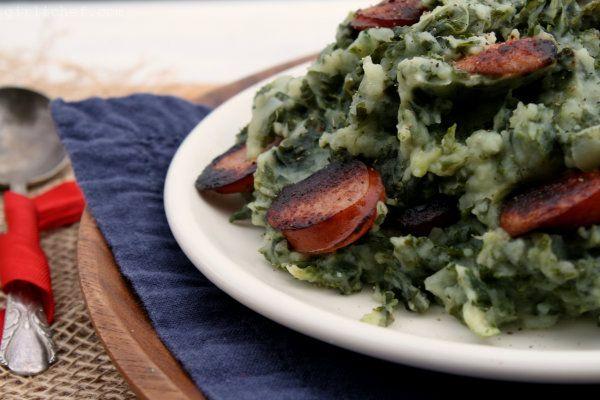 Boerenkool (Kale With Mashed Potatoes) Recipe — Dishmaps