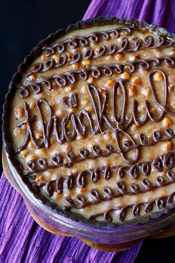 Chocolate Caramel Hazelnut Tart | Delectable Sweets, cakes and desser ...