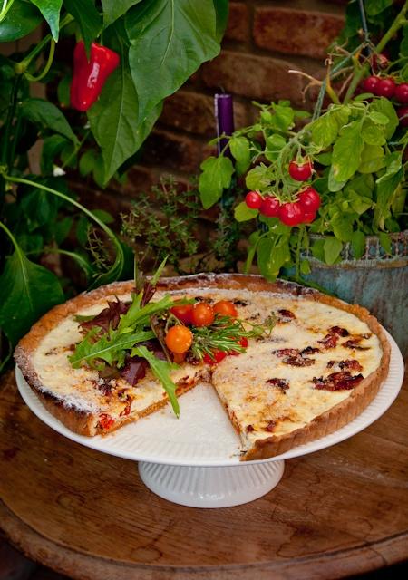 Roasted tomato and ricotta tart   Food - Savory   Pinterest