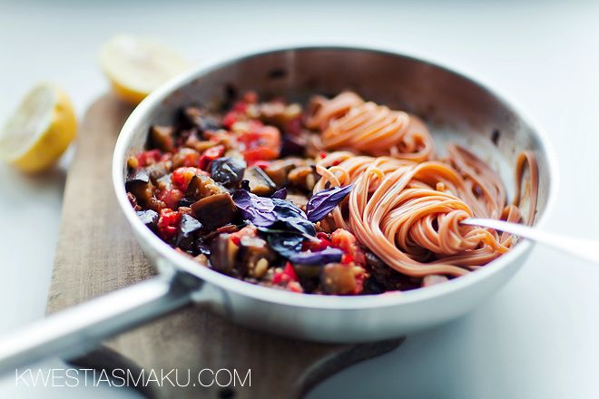 Pasta with Eggplant | Favorite Recipes | Pinterest