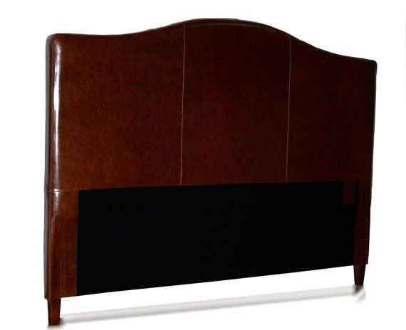 King Size Leather Headboard for Bed Camel Back by AlexAlinDesigns, $  570 x 464