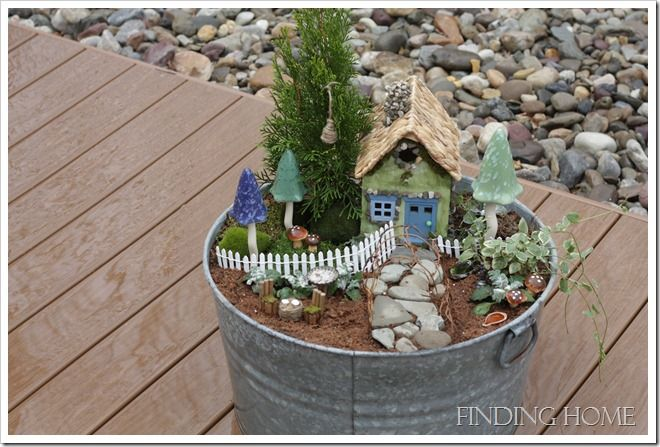 Whimsical fabulous fairy gardens pinterest for Fairy garden box ideas
