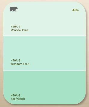 Seafoam painting pinterest for Seafoam blue paint color