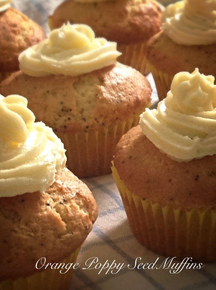 Orange Poppy Seed Muffins | Recipes - Sweet Things | Pinterest