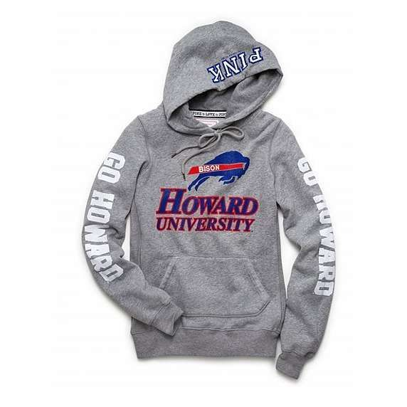 Victoria's Secret Pink Howard University pullover hoodie