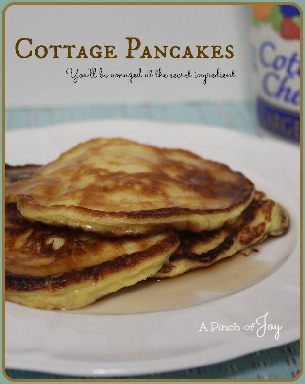 Cottage Pancakes A Pinch of Joy | Good Eats | Pinterest