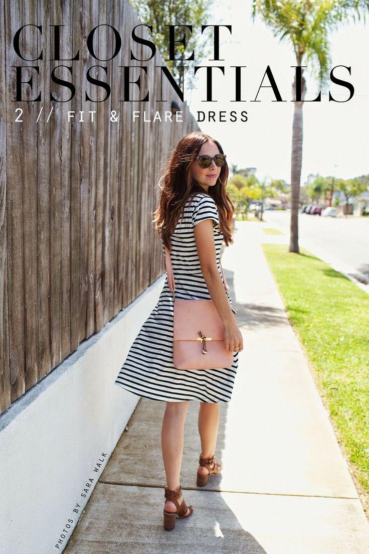 Merricks Art: CLOSET ESSENTIALS, FIT + FLARE DRESS