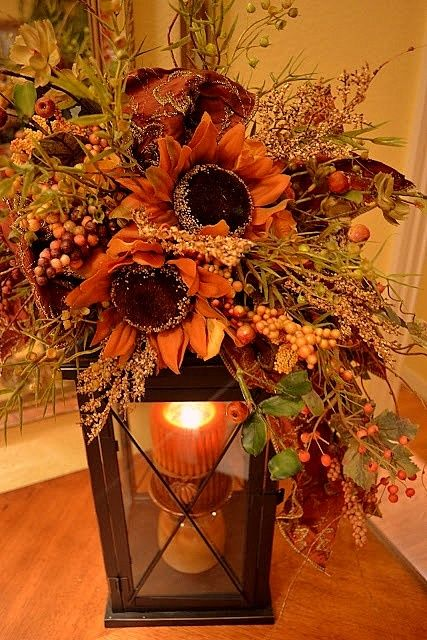 Fall Decorating Ideas On Pinterest Ѽ Fall Decorating Ideas