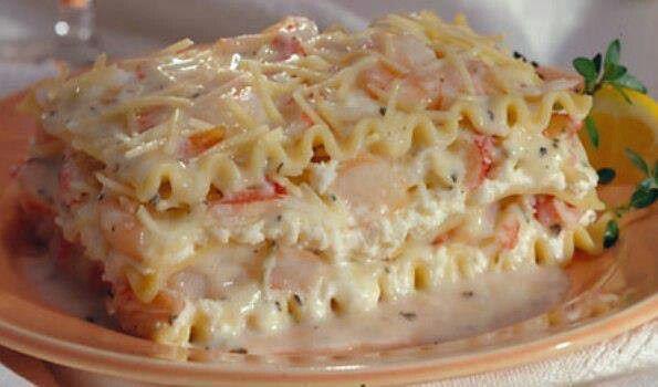 Seafood Lasagna!!! | Seafood | Pinterest