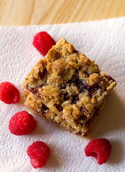 Raspberry Streusel Bars | Recipe