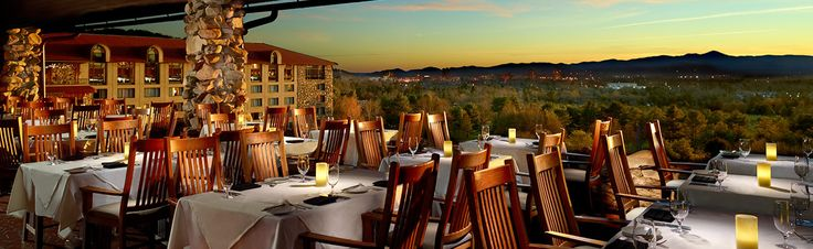 Sunset terrace park inn asheville nc dining with a view pinterest