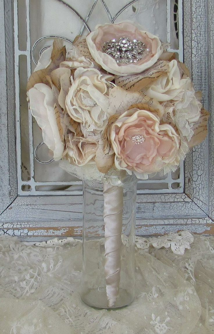 Bouquet rustic chic inspiration mariage champetre chic pinterest - Mariage champetre chic ...