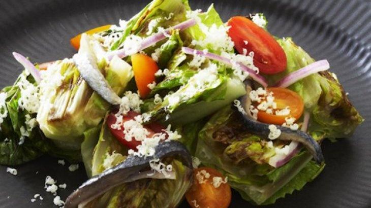 Grilled Romaine Salad   Sensational Salads!   Pinterest