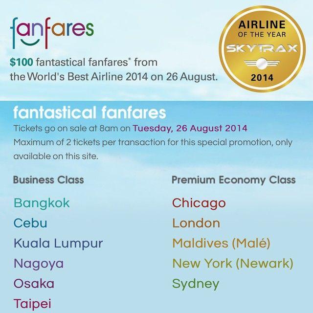latest offers flights fanfares