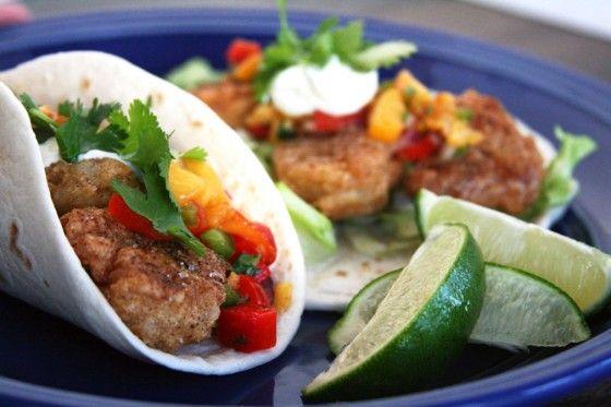 Crispy Shrimp Tacos | What's for Dinner?! | Pinterest