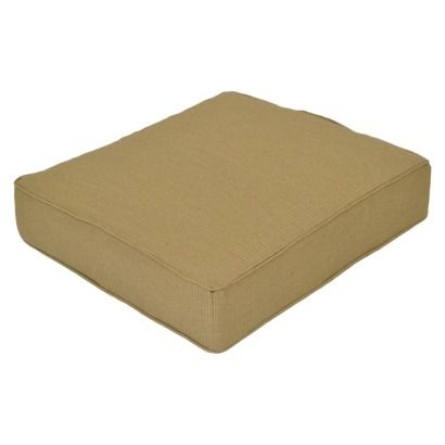 Smith & Hawken Outdoor Deep Seating Cushion Sand