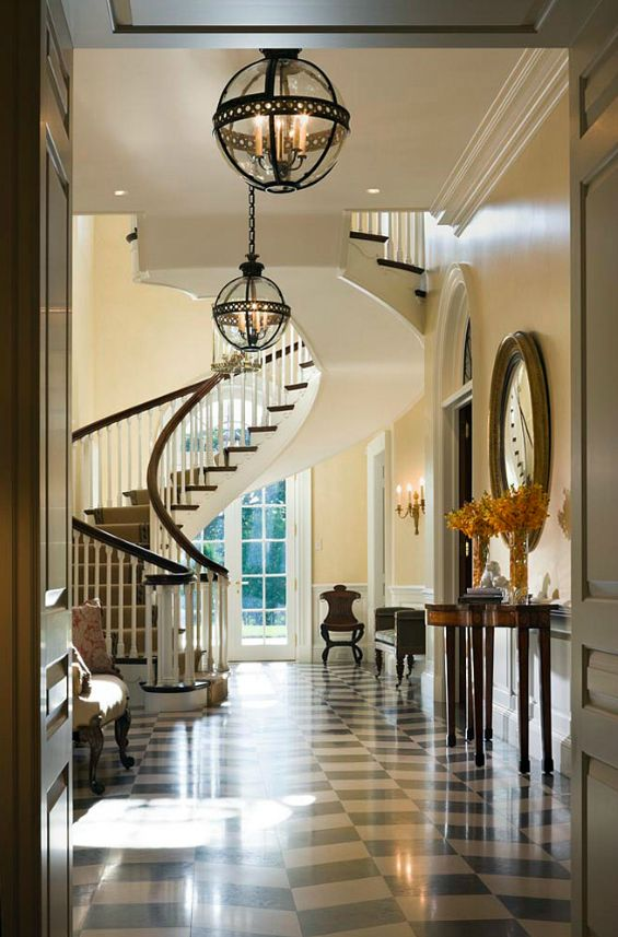 Sweeping Staircase Decor For The Home Pinterest