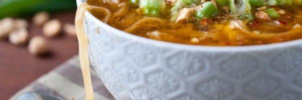 pad thai soup | Foods | Pinterest