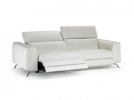 Leather sofa power motion - Natuzzi - Bergamo 20JG Furnitalia