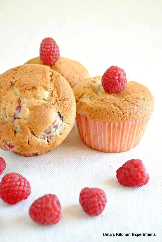 raspberry muffins | To eat | Pinterest