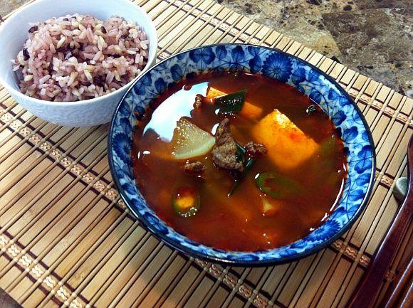 Korean Spicy Beef Radish Soup | Recipe Box | Pinterest