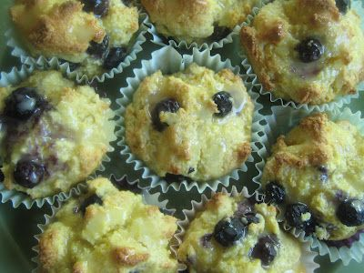Orange-Blueberry Cornmeal Muffins | Muffins and Cookies | Pinterest