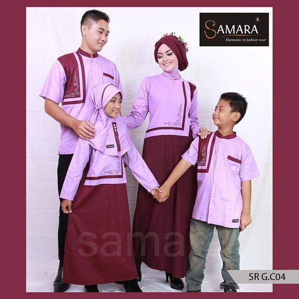 Baju Muslim Anak Couple