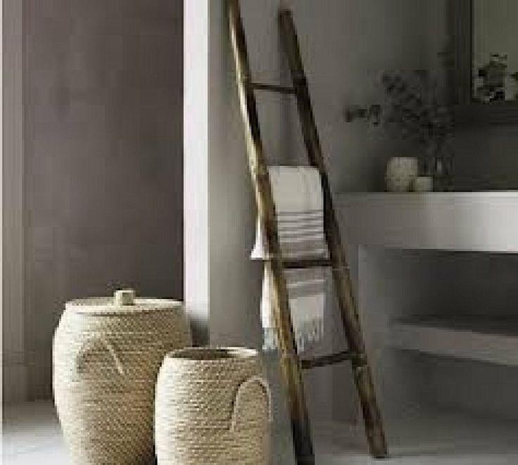 Badkameraccessoires Geel ~ Bamboo Ladders