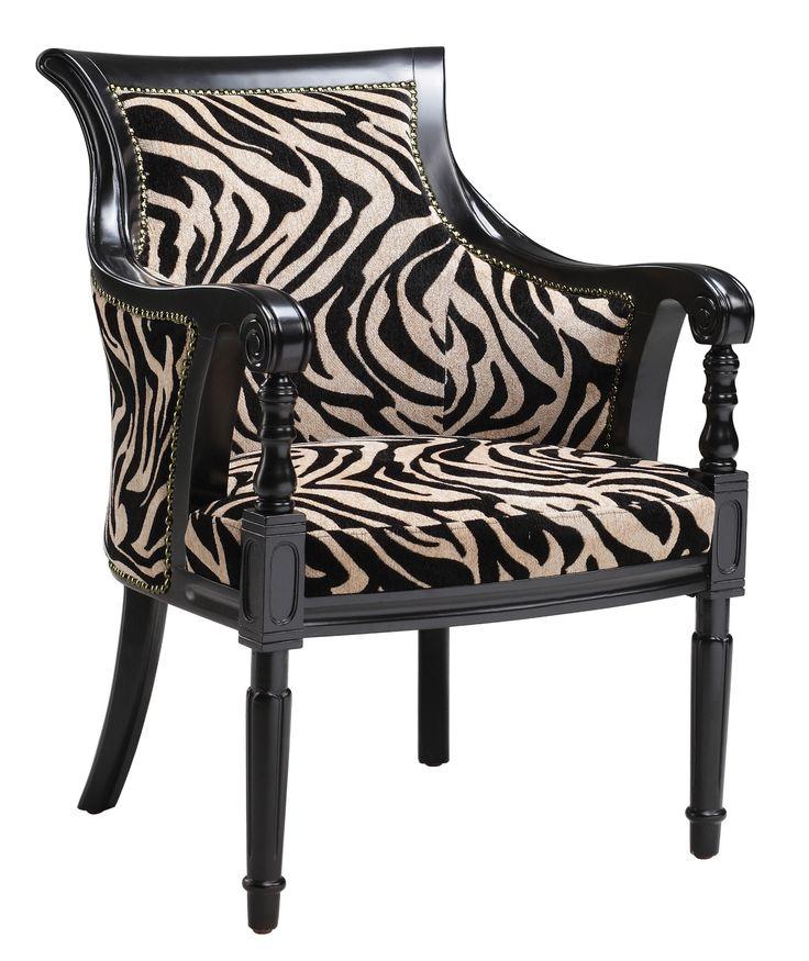 Zebra Print Barrel Chair Zebra Pinterest