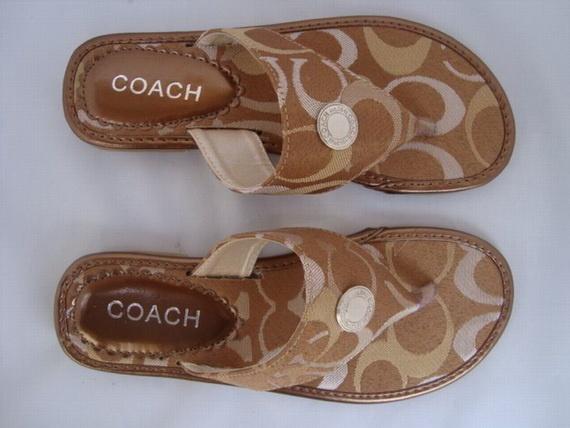 Coach Flip Flops for Women